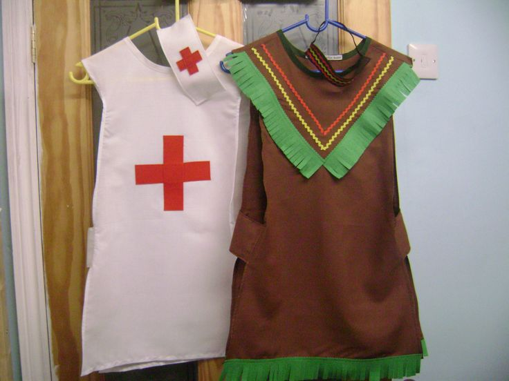 DRESS UP TABARDS MEDICAL and NATIVE AMERICAN