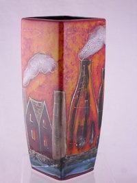 Anita Harris Art Pottery Hand Painted Vase