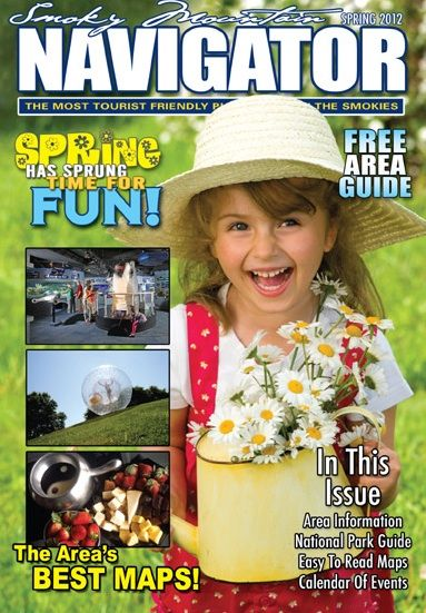 The Smoky Mountain Navigator is a vacation guide and free Gatlinburg coupon book