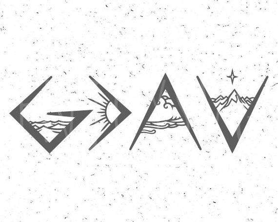 God is Greater than the highs and lows svg God is Greater svg God SVG Christian SVG Religious SVG File Cricut Silhouette God Cut File