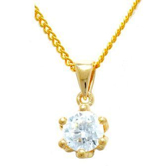 Buy our Australian made Cubic Zirconia Pendant - BEE-64733-CZ online. Explore our range of custom made chain jewellery, rings, pendants, earrings and charms.