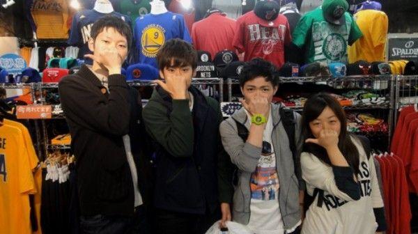【新宿2号店】 2014年4月16日 大学バスケサークルの皆さん☆(゚(゚ω(゚ω゚(☆ω☆)゚ω゚)ω゚)゚) スナップありがとうございますv(´∀`*v)ピース