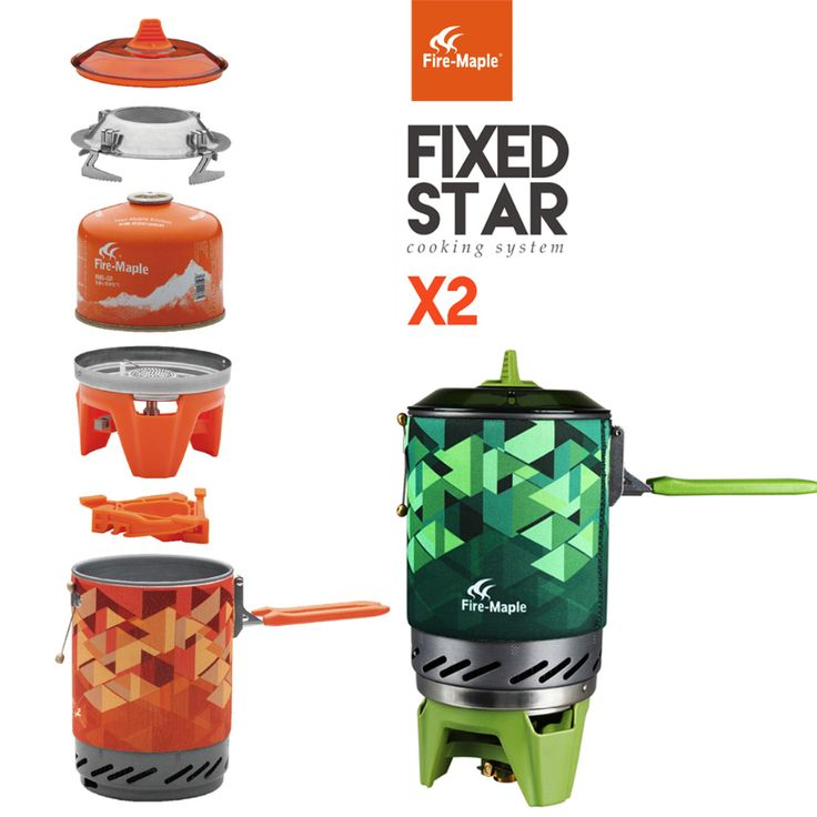 Fire Maple Outdoor Personal Cooking System Hiking Camping Equipment OvenPortable Best Propane Gas Stove Burner Set FMS-X2 Pot //Price: $90.00 & FREE Shipping //     #electronics