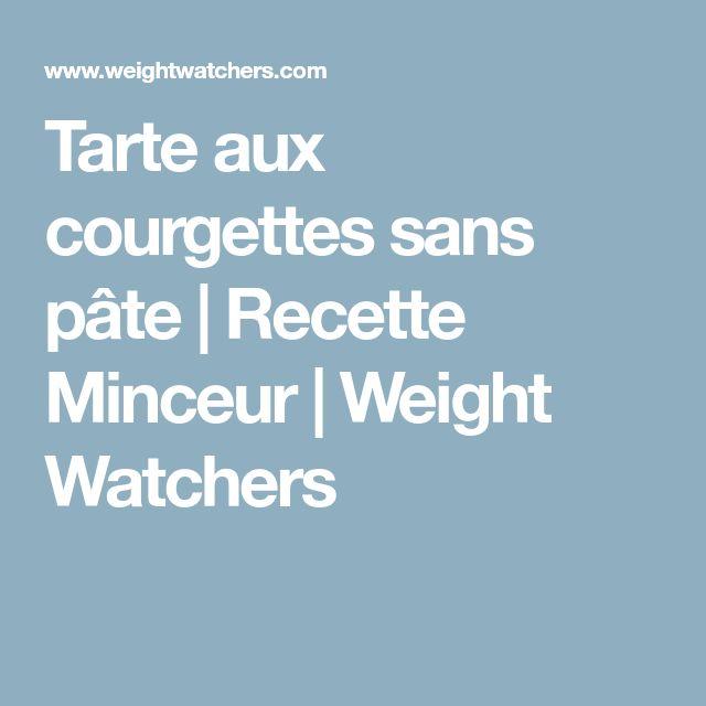 Tarte aux courgettes sans pâte | Recette Minceur | Weight Watchers