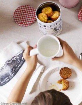 Muffins flocons d'avoine-pomme