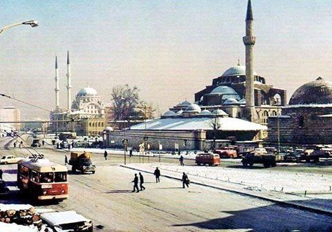 1973 kışında Tophane Meydanı