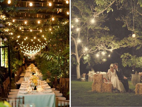 Wedding Venues In Lake Tahoe | Oh So Romantic Carnival Lights Lake Tahoe Wedding Inspiration