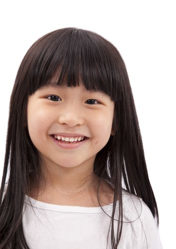 little-girl-dark-straight-hair-with-bangs | Stuff I want ...
