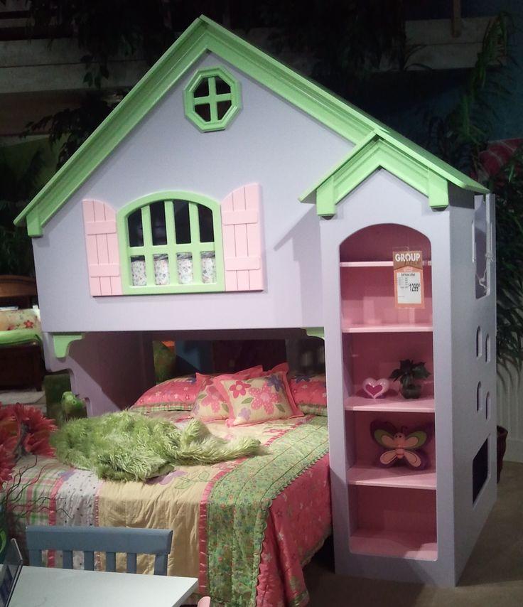 Little Girl House Bed For The House Pinterest Girl House House Beds And Little Girls