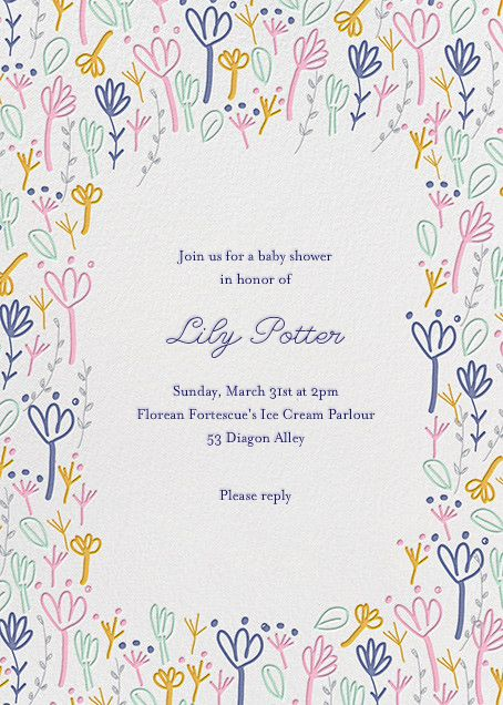 Little Sprouts By Little Cube For Paperless Post. Design Custom Baby Shower  Invitations With Easy