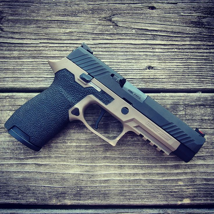 Full Size P320 Slide with Dawson Precision Sights on a Compact FDE Grip Module. Frame Work, Sights, and Trigger at Revolution Concepts. Grip Modules are Available already stippled and ready to ship out.