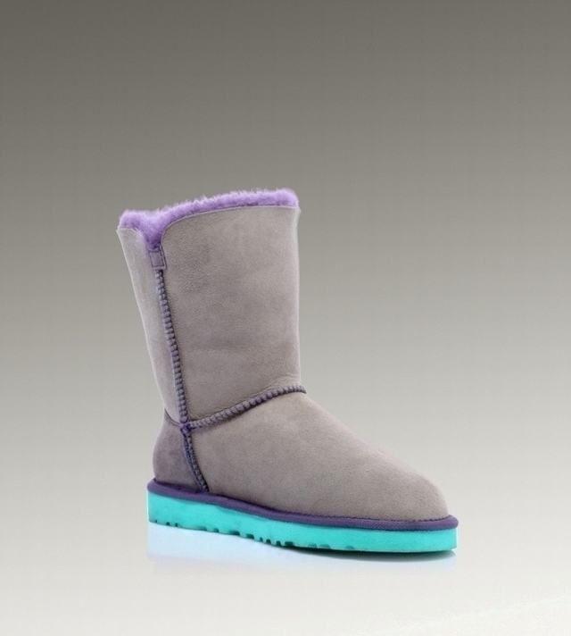 cbeebbd6793 ugg bailey button purple boot grey