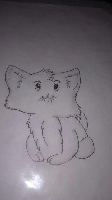 Cute kitty (cartoon style)