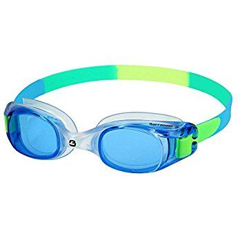 Barracuda Junior Swim Goggle FRENZY -Anti-fog UV Protection Shatter-resistance, Leak proof, Easy adjusting, Soft Seals, Lightweight Comfortable for Children Teens ages 7-15 #12755 (Blue-N)