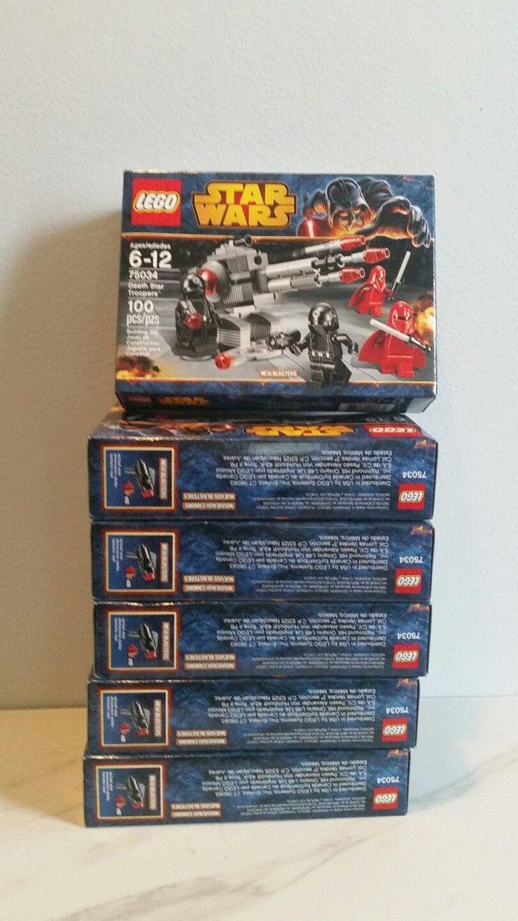New LEGO Star Wars: Death Star Troopers set 75034 MIB- FREE SHIPPING