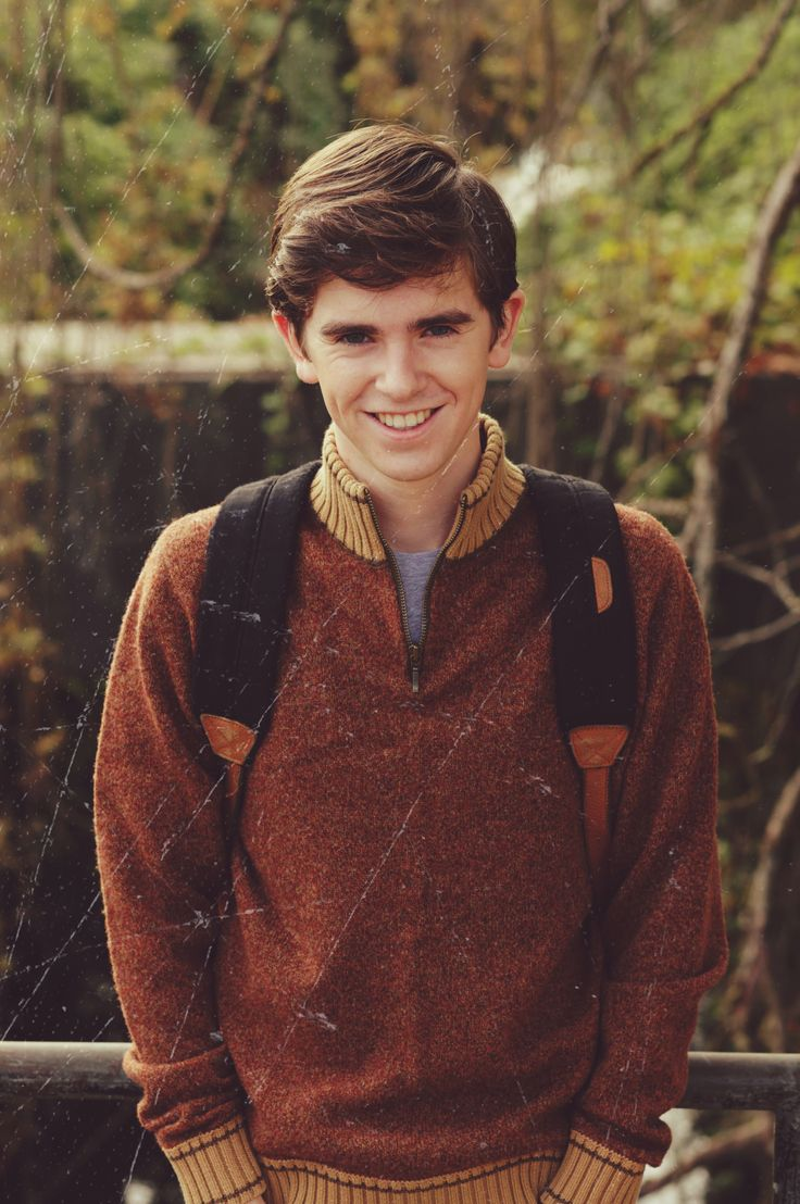 Norman headed back to school! #ThrowbackThursday #TBT #BatesMotel