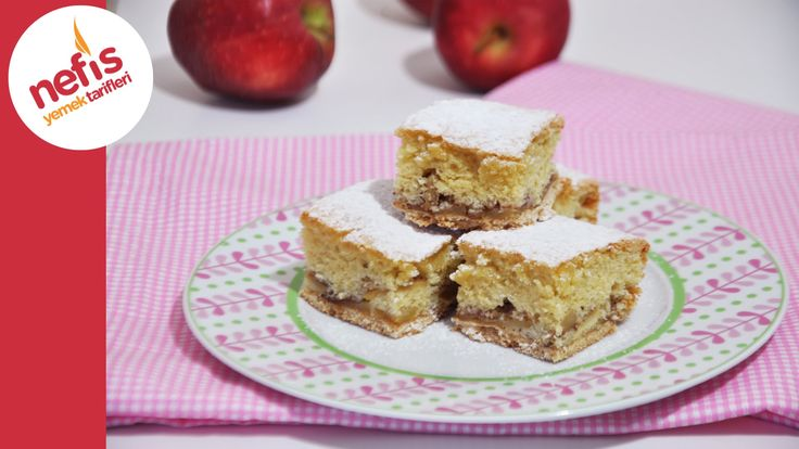 Bisküvili Elmalı Pasta Nasıl Yapılır?