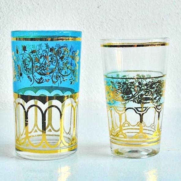 Marocco tea glasses