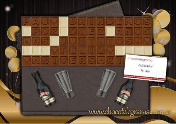 Regalos para Aniversario - Caja Premium Baileys