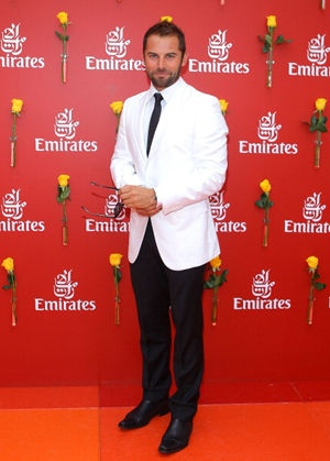 Yummy Australian Actor/compere/presenter/athlete Daniel MacPherson at Melb. Cup 2010