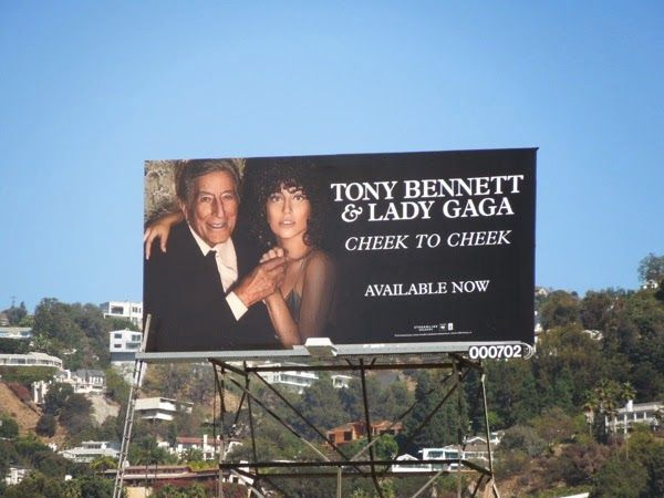 Tony Bennett & Lady Gaga Cheek to Cheek album billboard