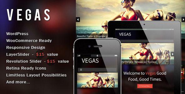 Vegas - woo commerce ready