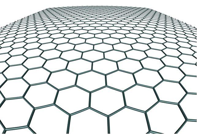 Grafeen - materiaal van de toekomst  Kort: Grafeen is een molecule, een kristal, een enkele laag van atomen bestaande uit het element koolstof gerangschikt in