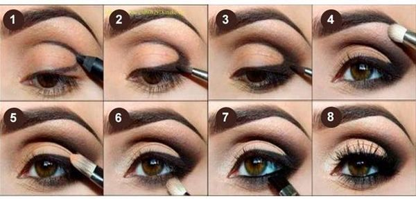 1000 images about makeup ojos peque os on pinterest for Como maquillar ojos ahumados paso a paso