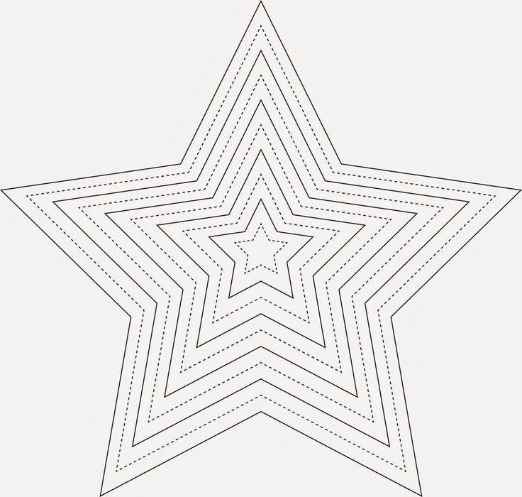 die 25 besten ideen zu vorlage stern auf pinterest sternenvorlage bastelvorlage stern und. Black Bedroom Furniture Sets. Home Design Ideas