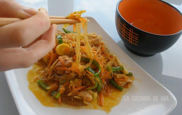 La Cocinika De Ana: Yakisoba (Fideos japoneses)