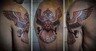 David Hale Tattoos his Illustrated Spirit