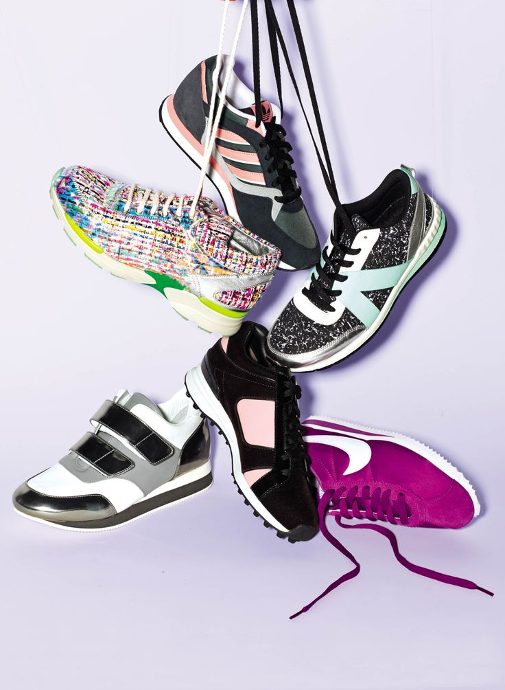 These sneakers are the chicest way to get in on the sporty-cool trend.