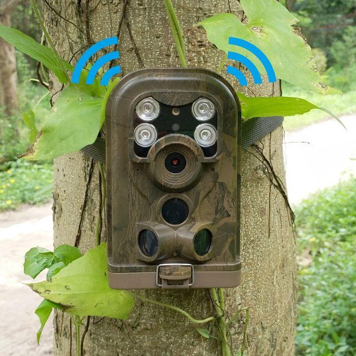 MMS Wireless Surveillance Multifunctional Hidden Spy Game Hunting Camera Trail Cam