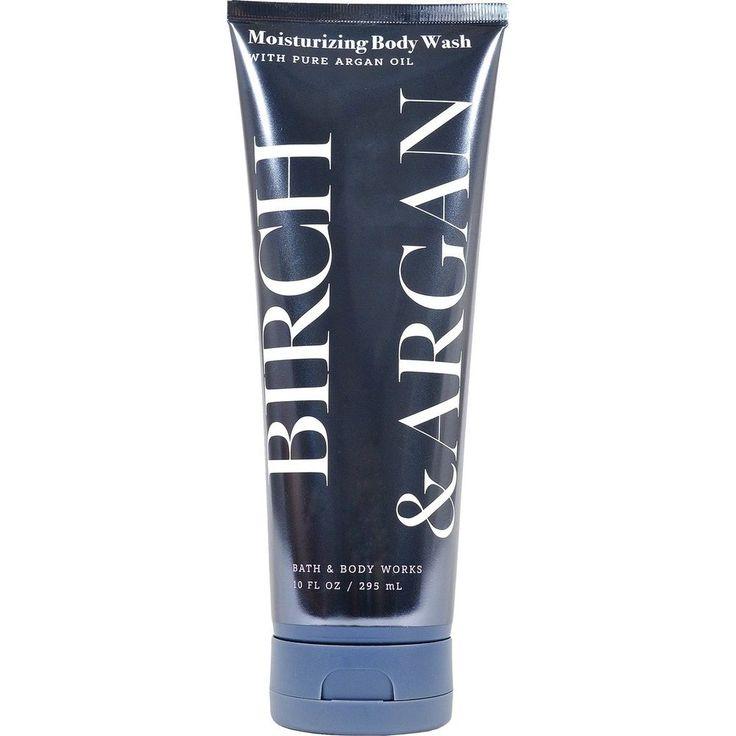 Bath & Body Works Birch & Argan Moisturizing Body Wash with Pure Argan Oil 10oz #BathBodyWorks