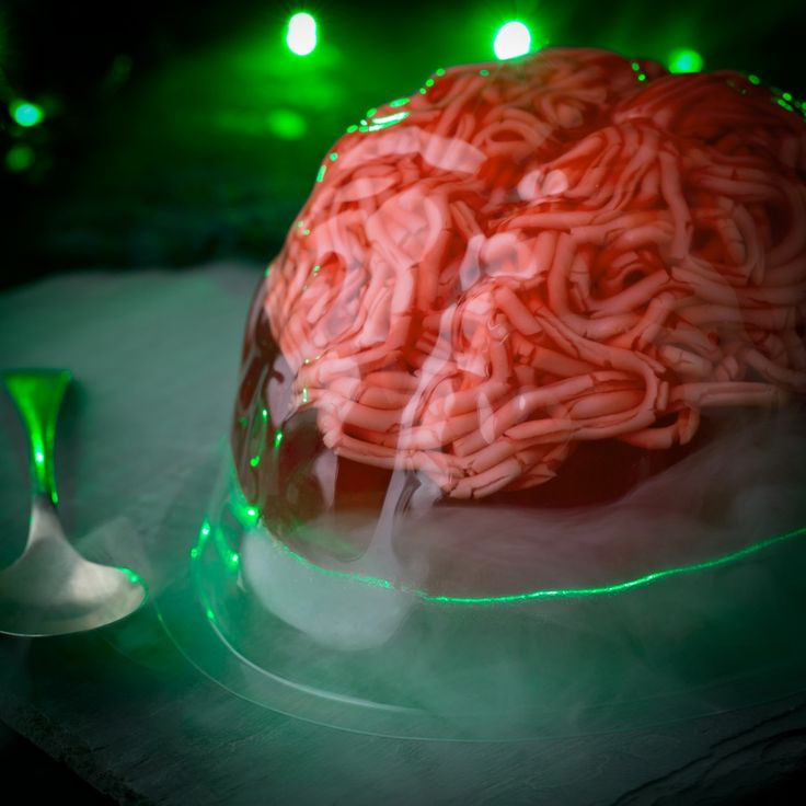 Get gory and serve up a juicy, jelly brain at your Halloween party, we're sure any attending Zombies will be delighted!
