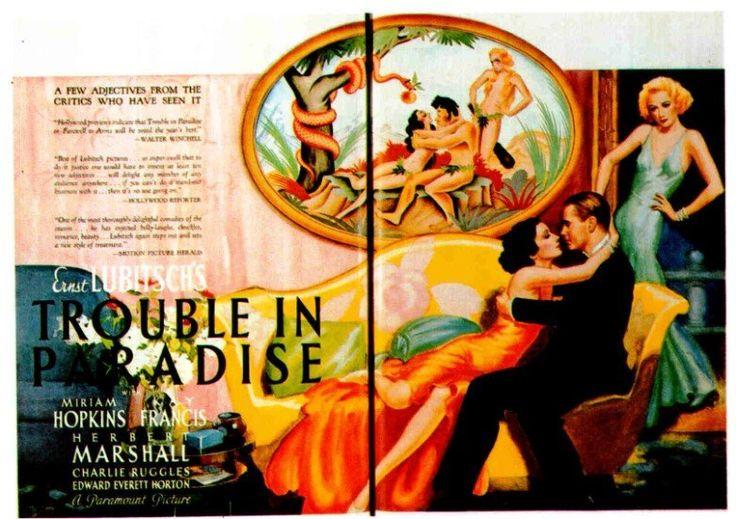 Trouble in paradise magazine advertisement