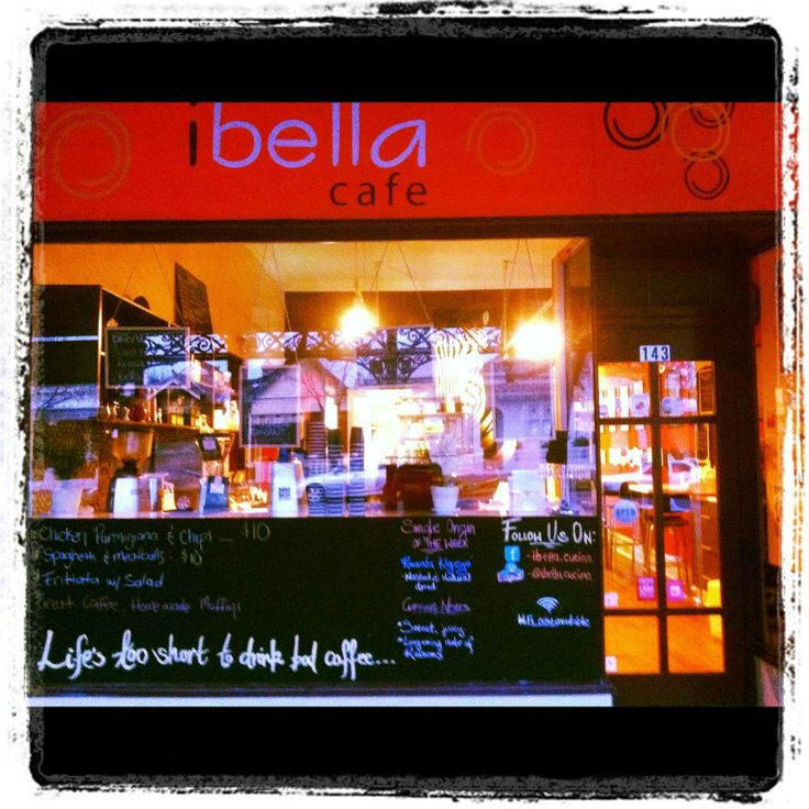 Ibella Cafe in Albert Park is stocking red espresso. A perfect and relaxing place for moms and kids. Now everyone can enjoy a naturally caffeine-free soothing red latte!
