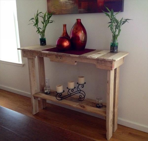 best 25 pallet side table ideas on pinterest diy side
