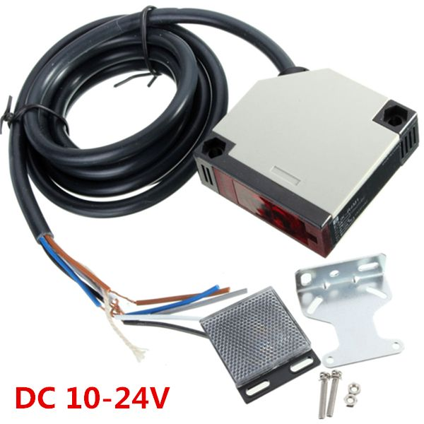 E3JK-r4m1 interruptor del sensor de reflexión especular dc 10-24V fotoeléctrico 3a