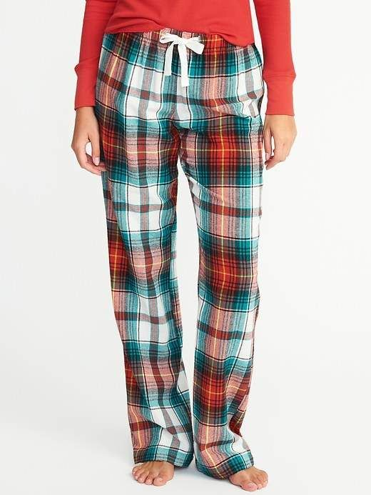 Old Navy Printed Flannel Sleep Pants for Women | Plaid ...