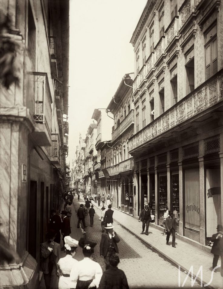 Marc Ferrez. Centro do Rio de Janeiro. c. 1890. Rio de Janeiro / Acervo IMS