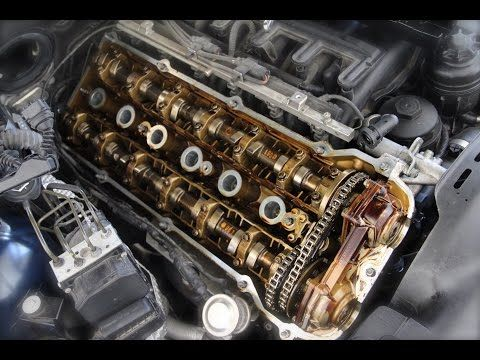 BMW M54 Valve Cover Gasket Replacement DIY - YouTube