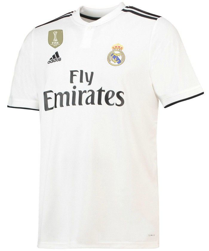 free shipping 2e663 64f32 New Real Madrid home shirt, 2018-19 | Wallpaper | Real ...