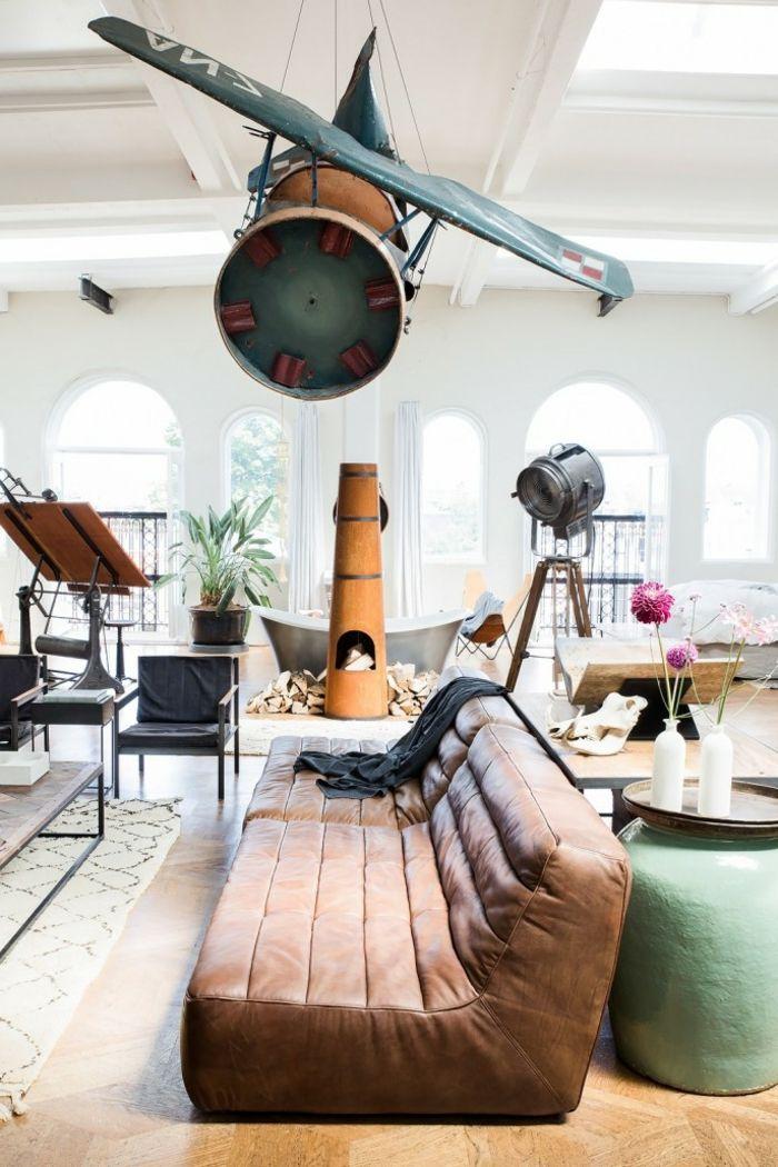 17 meilleures id es propos de canap s en cuir marron sur pinterest salons - Decoration salon cuir marron ...
