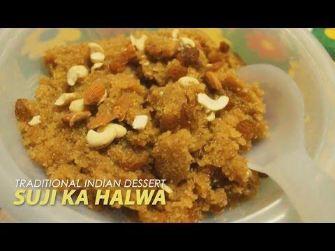 Suji - Semolina Ka Halwa | Traditional Indian Dessert | Food