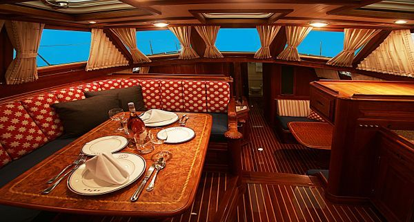 sail away girl thinks this sailboat interior is wow check