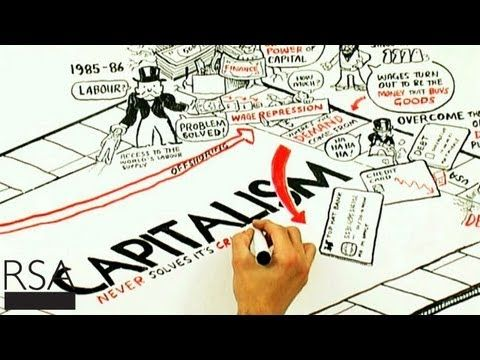 RSA Animate - Crises of Capitalism. Interesting arguments and explanation on how capitalism works.