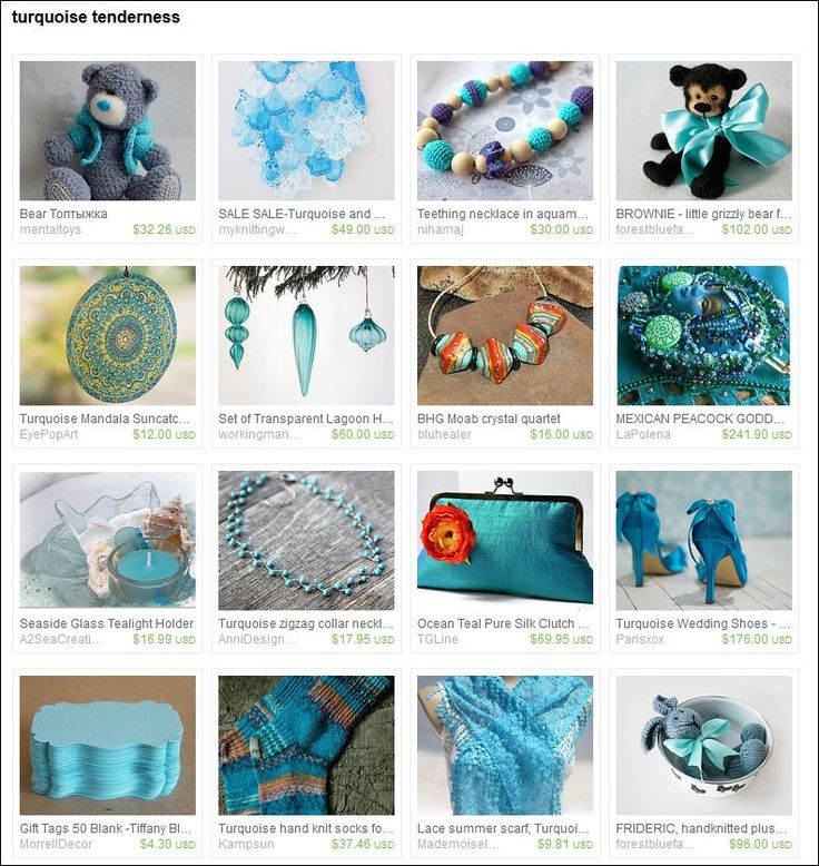 Turquoise Tenderness - Etsy treasury curated by  Марина Гвоздева from mentaltoys on Etsy.  https://www.etsy.com/treasury/NTY3NjkxNjF8MjcyNzExODAyMg/turquoise-tenderness