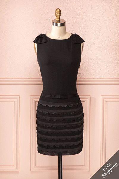 Malandra ♥ La petite robe noire est irremplaçable, c'est un classique que vous saurez étaler avec fascination.  The little black dress is irreplaceable, it's a classic you will know how to display with fascination.