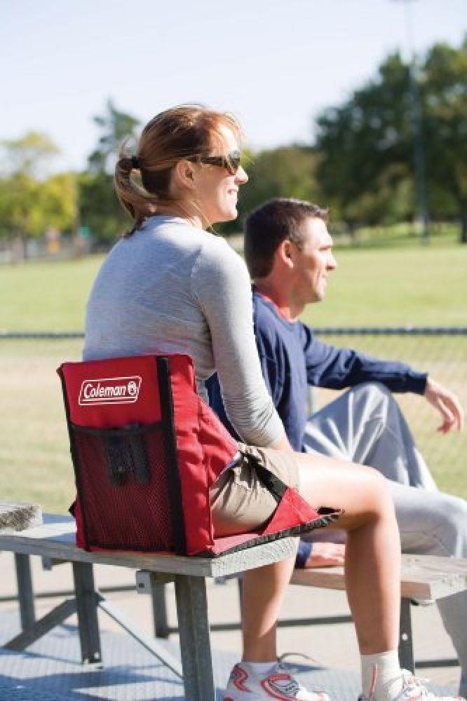 Portable Stadium Chair Portable Padded Folding Bleacher Seat Cushion Football #Coleman